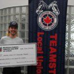 987 Member Scholarship Recipient Derek Morel